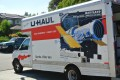 Moving   U Haul Truck